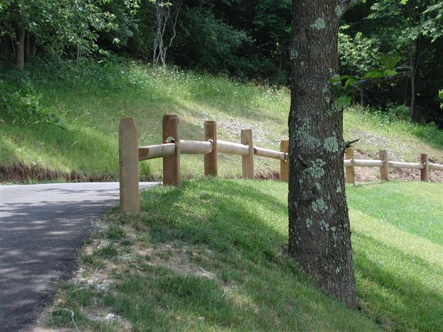 Golf Course Cart Path Fencing